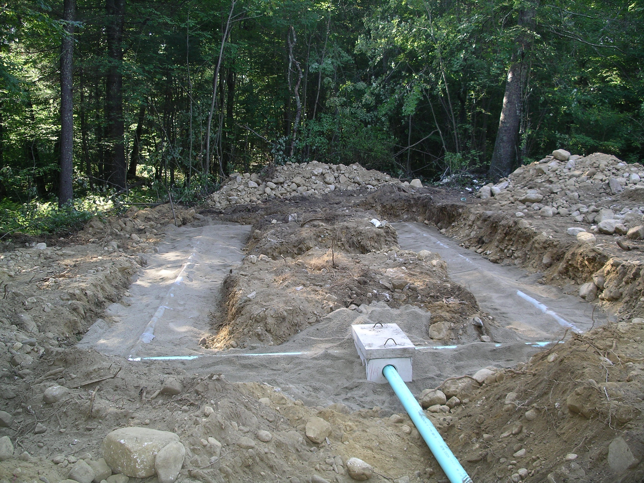 What does a rhode island new construction septic system for Residential sewer systems